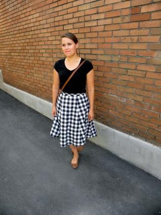 Top: Smart Set, Skirt: Made by me Photo: © Sydni Legge